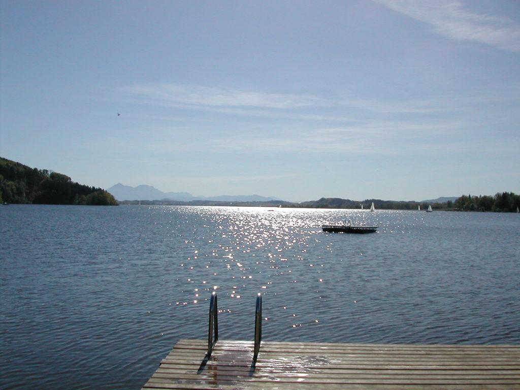 Strandbad Wallersee - schwimmen im Salzburger Seenland