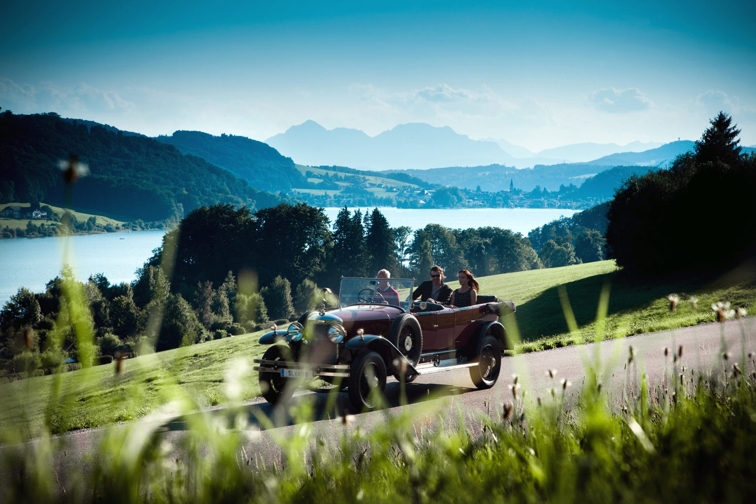 Oldtimer Fahrt Salzburger Seenland